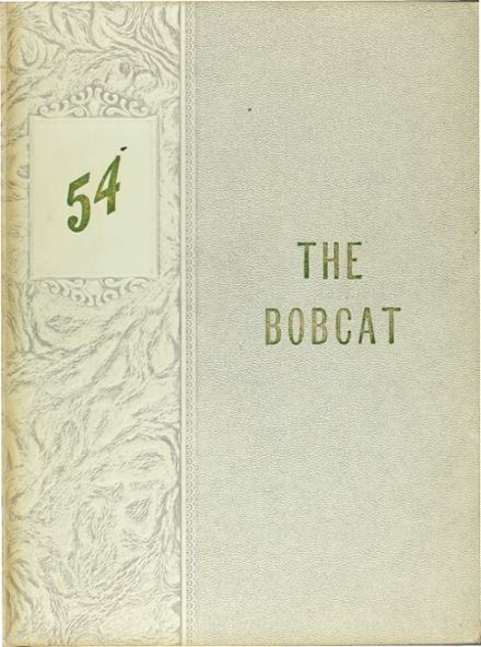1954 Pleasant Grove High School Yearbook Cover