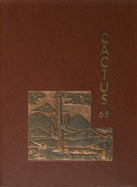 1968 Judson School Yearbook Cover