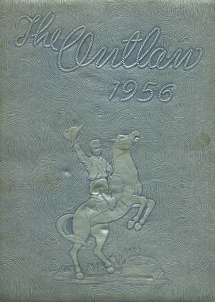 1956 Marlow High School Yearbook Cover