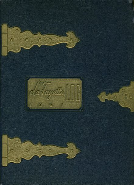 1951 South Fayette High School Yearbook Cover
