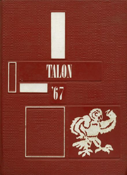 1967 Jefferson Area High School Yearbook Cover