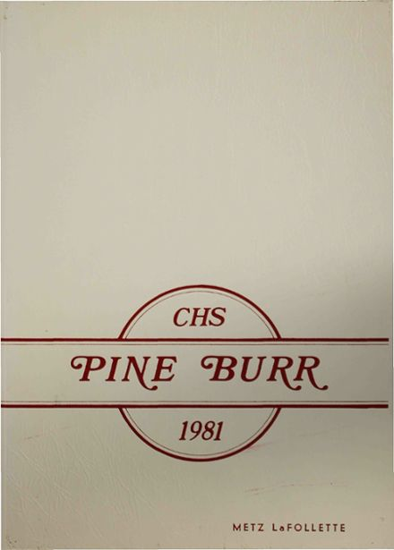 1981 Carthage High School Yearbook Cover