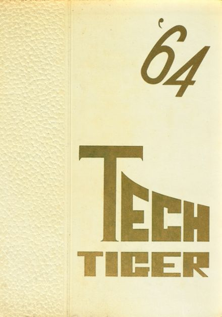 1964 Technical High School Yearbook Cover