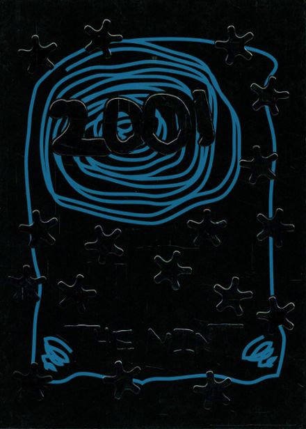 2001 Minto High School Yearbook Cover
