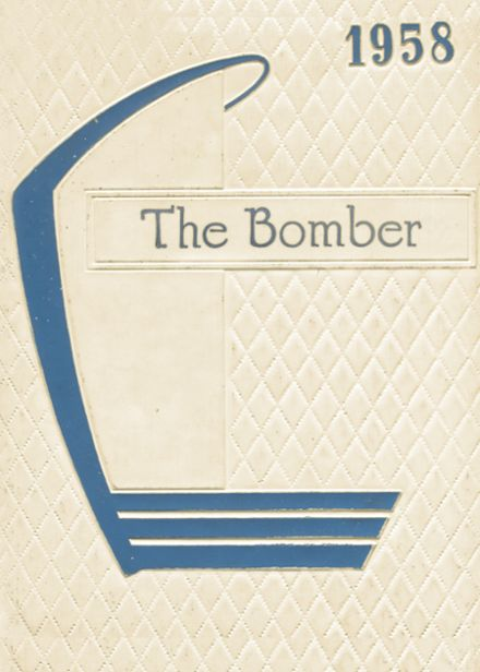1958 Mountain Home High School Yearbook Cover
