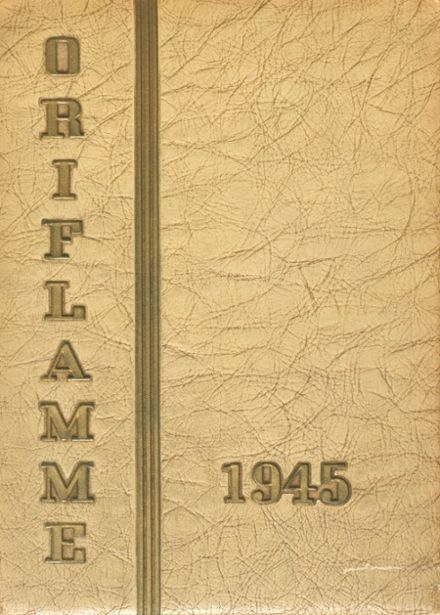 1945 Immaculate Conception Academy Yearbook Cover