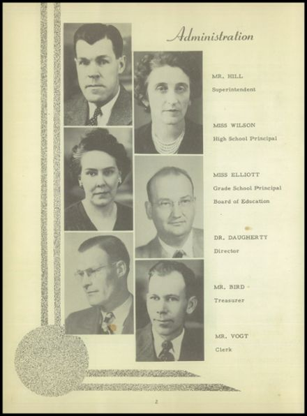 1949 Meade High School Yearbook Page 8