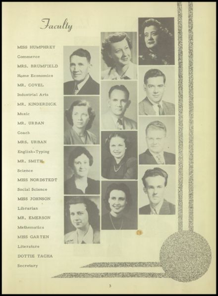 1949 Meade High School Yearbook Page 9