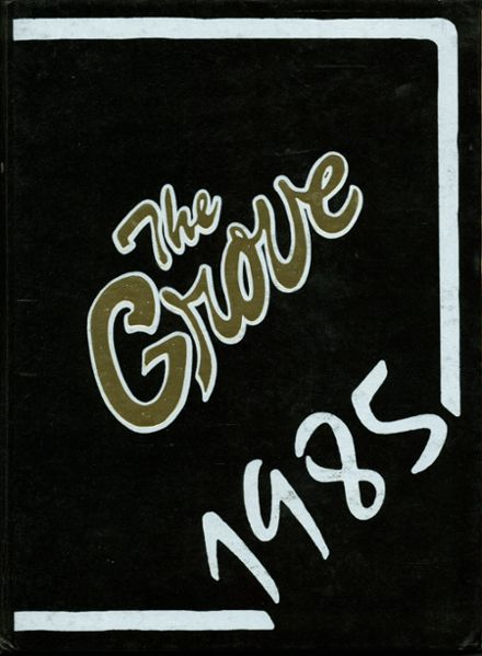 1985 Pleasant Grove High School Yearbook Page 1