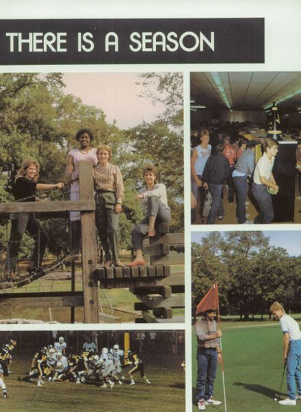 1985 Pleasant Grove High School Yearbook Page 9