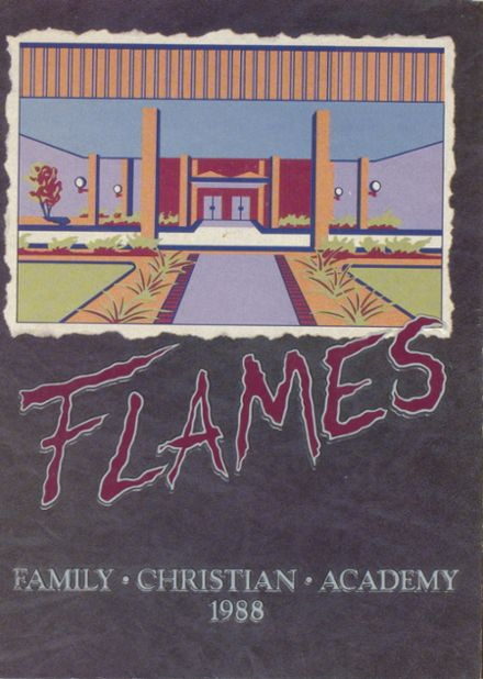1988 Family Christian Academy Yearbook Cover