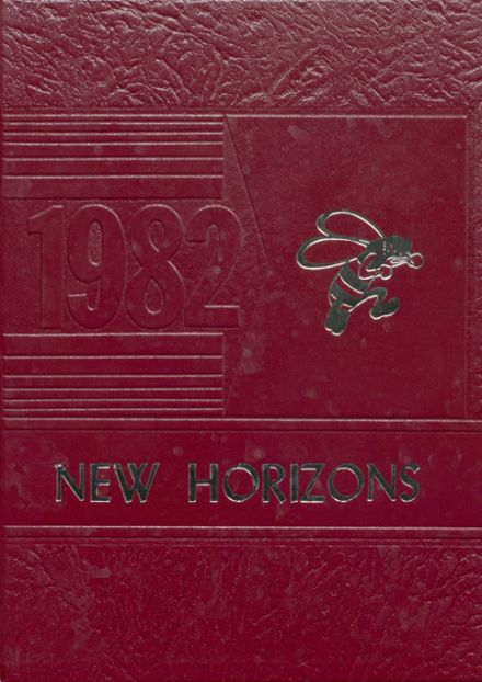 1982 L'Anse High School Yearbook Cover