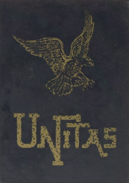 1969 United Local High School Yearbook Cover