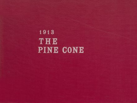 1913 Pine Bluff High School Yearbook Cover