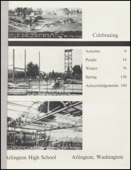 1986 Arlington High School Yearbook Page 5