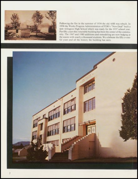 1986 Arlington High School Yearbook Page 6