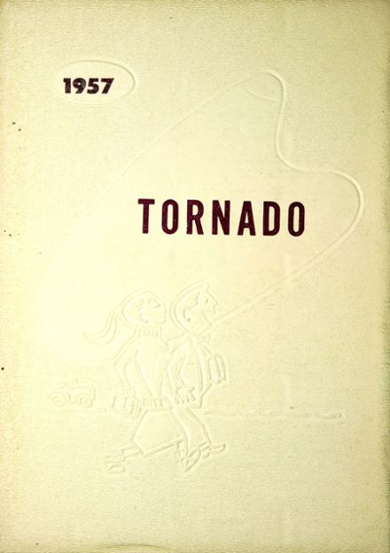 1957 Yelm High School Yearbook Cover