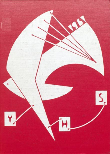 1961 Ypsilanti High School Yearbook Cover