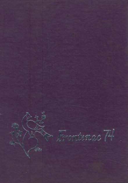 1974 Union Springs Central High School Yearbook Cover
