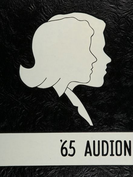 1965 Tustin High School Yearbook Cover