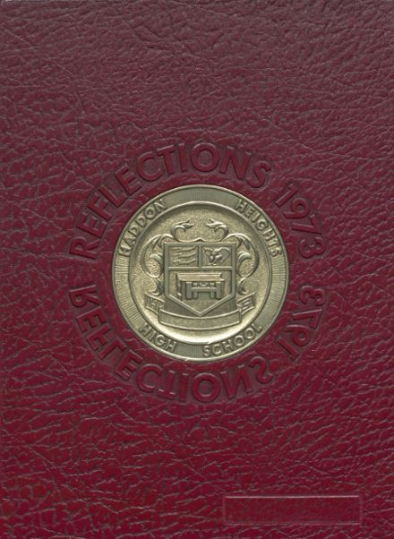 1973 Haddon Heights High School Yearbook Cover