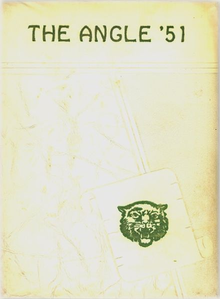 1951 Angleton High School Yearbook Cover