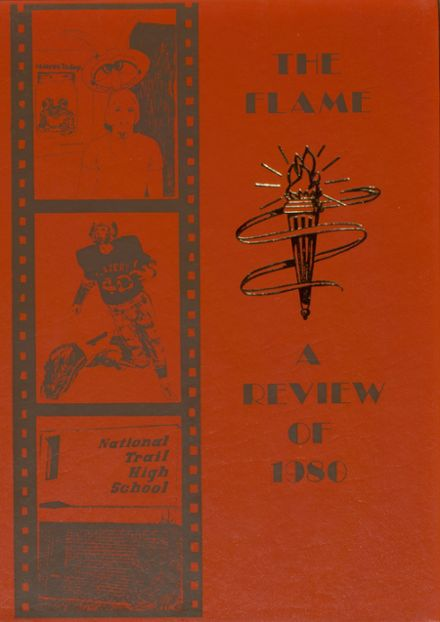 1980 National Trail High School Yearbook Cover