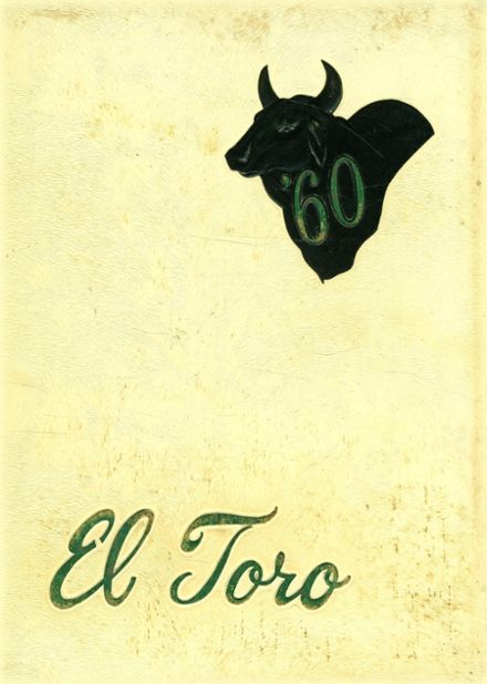 1960 King High School Yearbook Cover