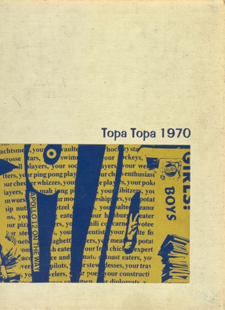 1970 Nordhoff High School Yearbook Cover