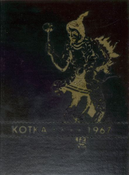 1967 Burnsville High School Yearbook Cover