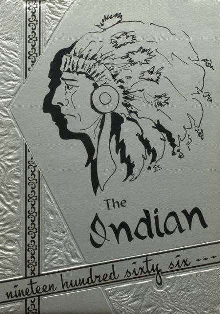 1966 Stilwell High School Yearbook Cover