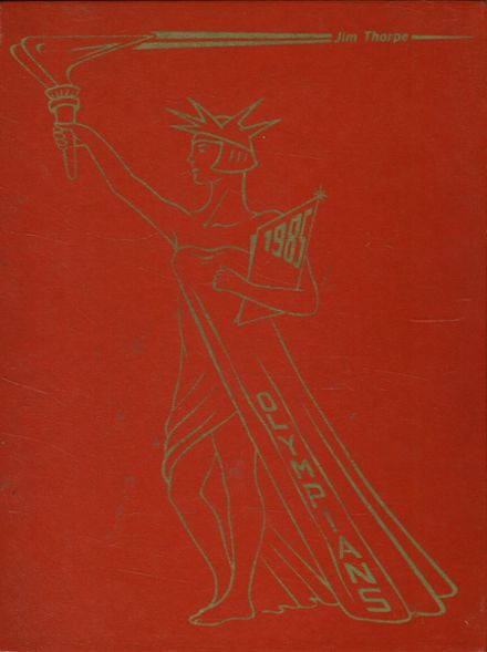 1985 Jim Thorpe Area High School Yearbook Cover