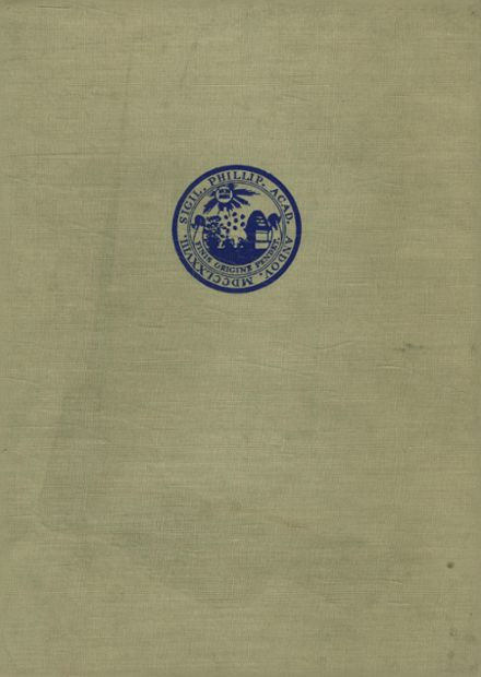1944 Phillips Academy Yearbook Cover