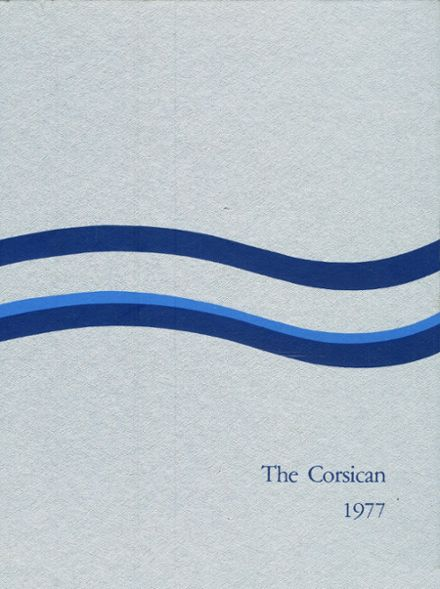 1977 Corsicana High School Yearbook Cover