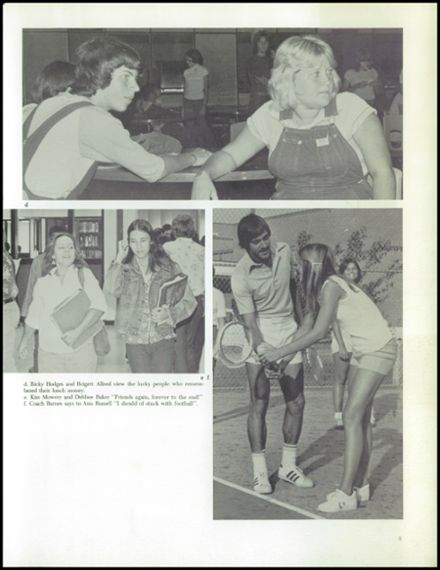 1977 Corsicana High School Yearbook Page 9