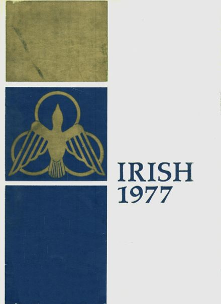 1977 Notre Dame High School Yearbook Cover