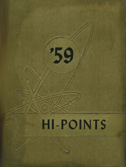 1959 Sparrows Point High School Yearbook Cover