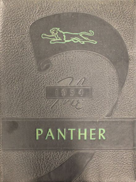 1954 Kyle High School Yearbook Cover