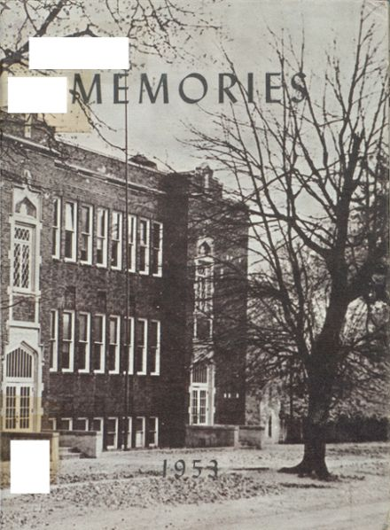 1953 Gill Township High School Yearbook Cover