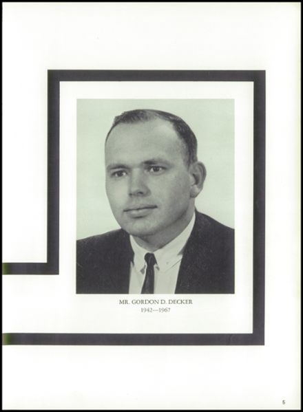 1968 Gouverneur High School Yearbook Page 9