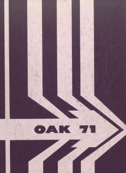 1971 Upper Darby High School Yearbook Cover