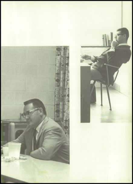 1965 Greenfield High School Yearbook Page 9