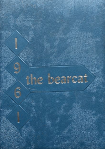 1961 Erick High School Yearbook Cover