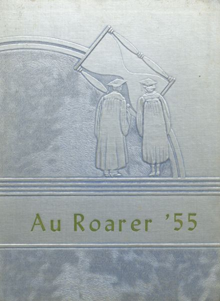 1955 Plain Dealing High School Yearbook Cover