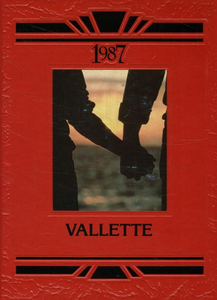1987 Schuylkill Valley High School Yearbook Cover