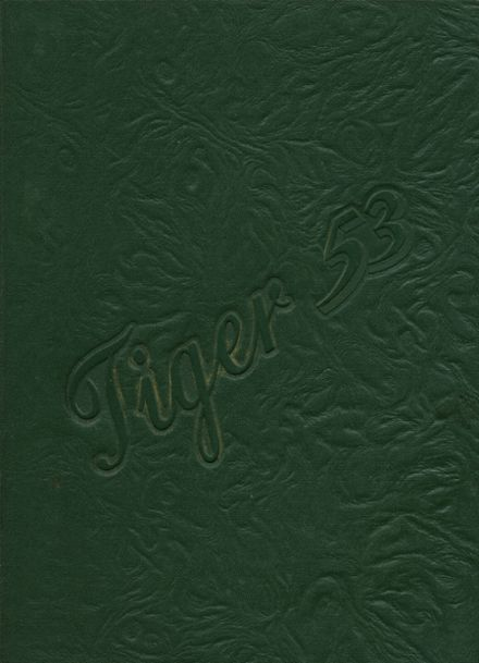 1953 Atkinson High School Yearbook Cover