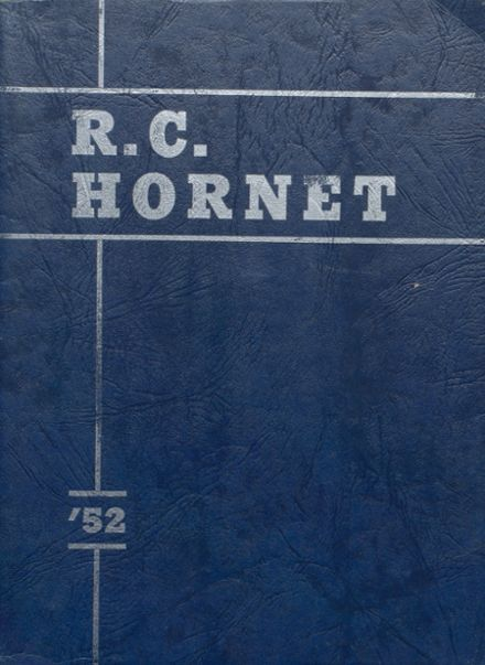 1952 Richland Center High School Yearbook Cover