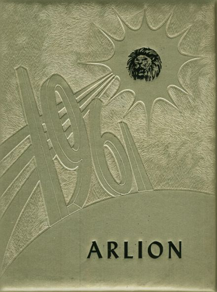 1961 Arnold High School Yearbook Cover