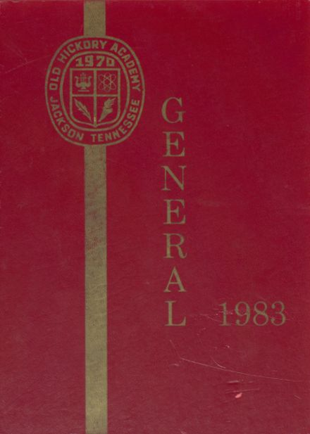 1983 Old Hickory Academy Yearbook Cover