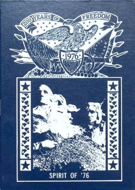 1976 Titonka Consolidated High School Yearbook Cover